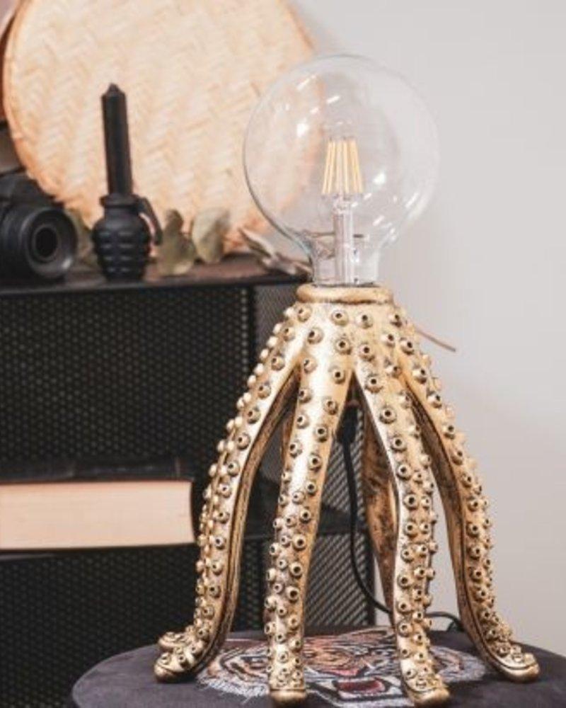 housevitamin HV OCTOPUS LAMP 25X25 - GOUD