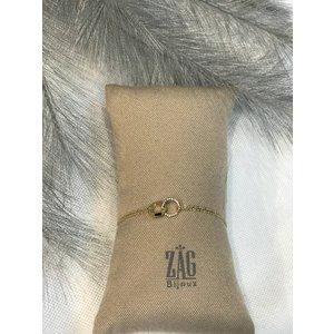 ZAG Bijoux ARMBAND – FOREVER GOUD