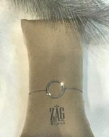 ZAG Bijoux ARMBAND CIRKEL - ZILVER
