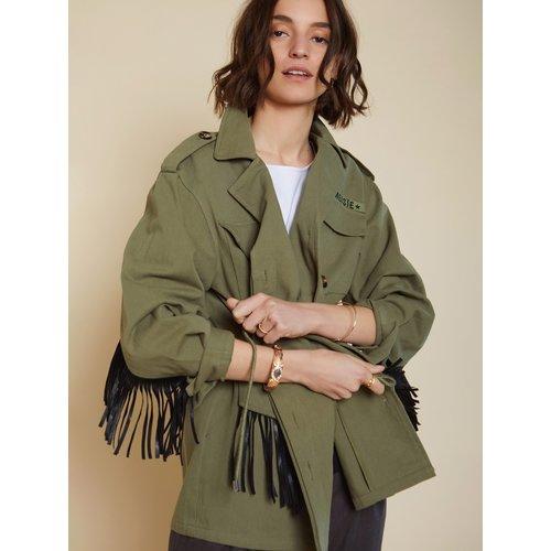 Meisïe Parka jacket - olive green