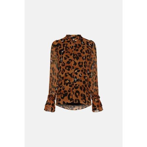 Fabienne Chapot Carmen blouse leopatra