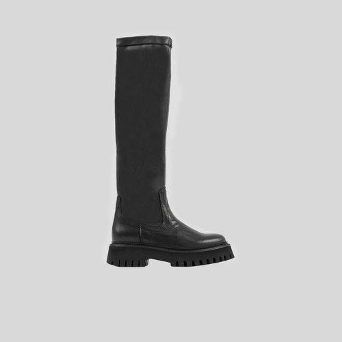 Bronx BR Boot Leather Black