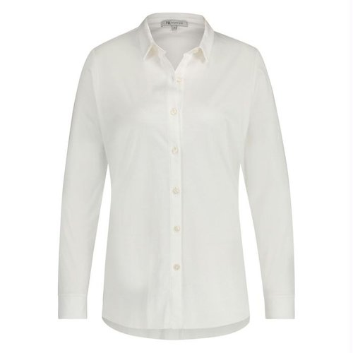 LABEL NICK NU Simple blouse white