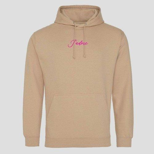 Pinned By K Hoodie J'adore pink velvet