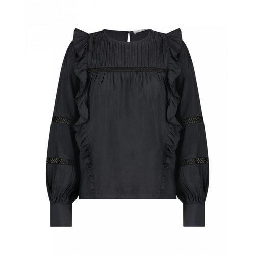 Aaiko Vayenna Vis blouse - black