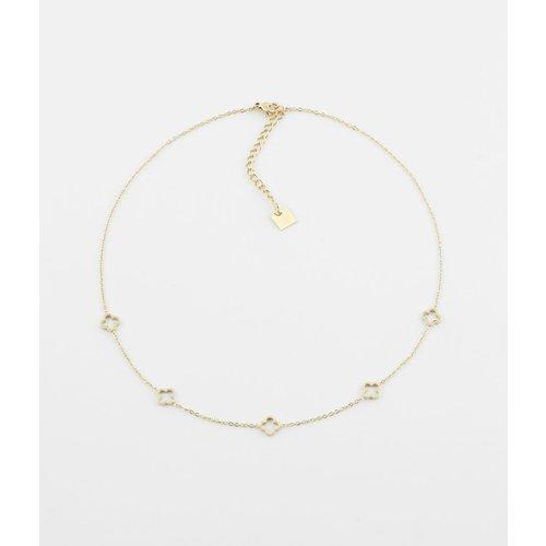 ZAG Bijoux Necklace  short gold tone