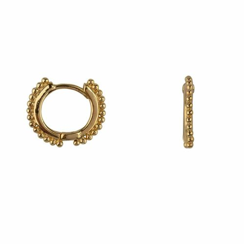 Betty Bogaers Small hoop earring - gold