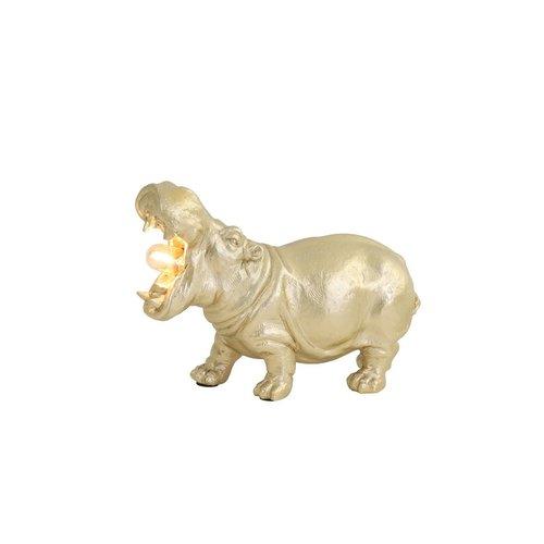 Light & Living Tafellamp Hippo Mat 27x11x17,5