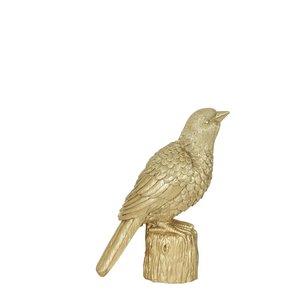 Light & Living Ornament 15x8x20.5 - Bird Goud