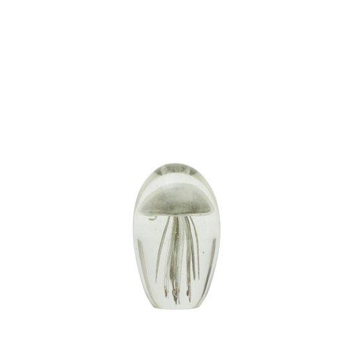 Light & Living Ornament 8x13cm Jellyfish Kora