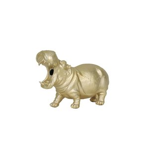 Light & Living Tafellamp Hippo Mat Goud