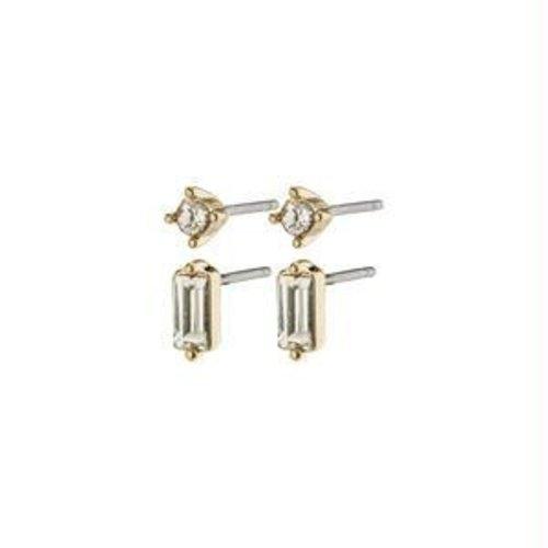 Pilgrim Sabrina earrings - gold