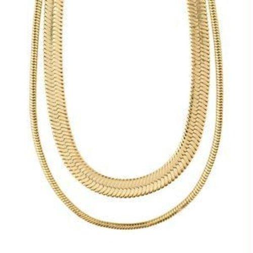 Pillgrim Reconnect chuncky snake chains