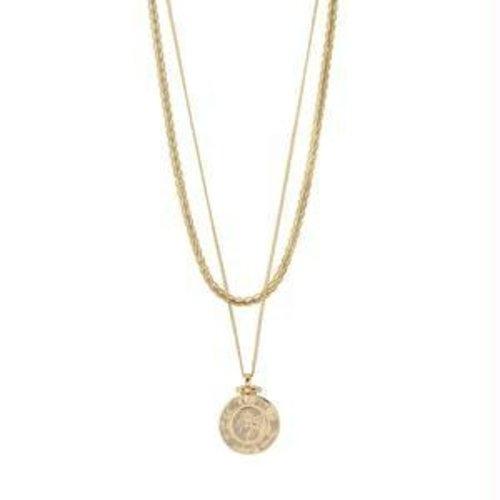Pilgrim Nomad necklace - gold