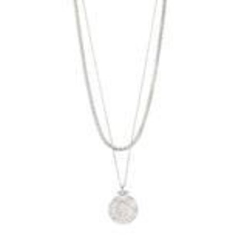 Pilgrim Nomad necklace - silver