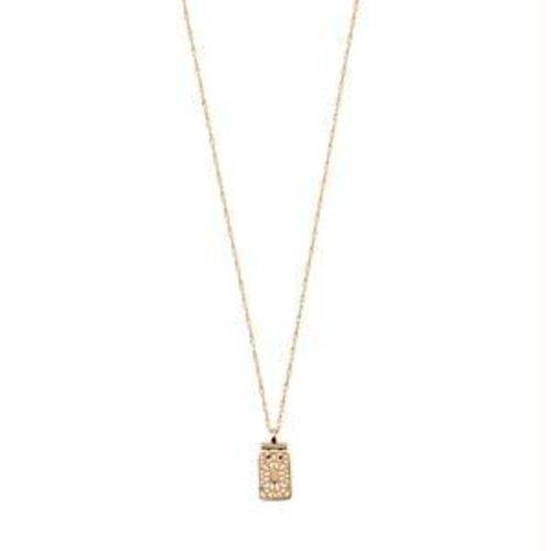 Pilgrim Legacy pendant necklace - gold
