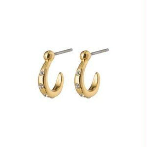 Pilgrim Legacy half hoop earrings