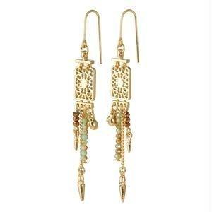 Pillgrim Legacy deco earrings - gold