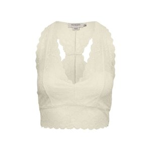 SOAKED in luxury  Bralette - antique white
