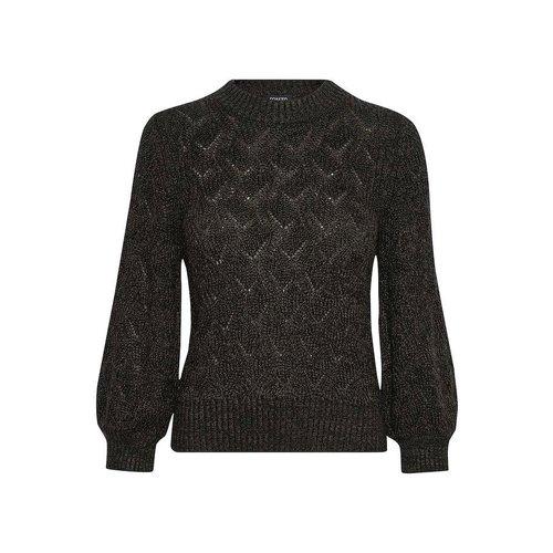 SOAKED in luxury  Calina top 3/4 - black