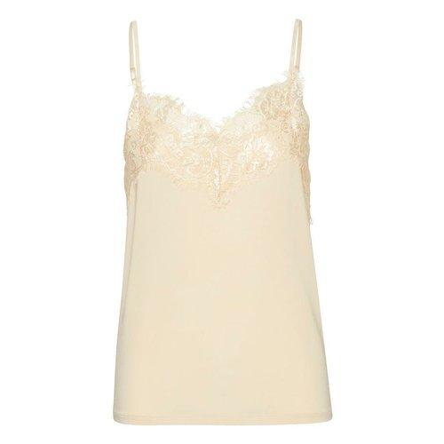 SOAKED in luxury  Clara singlet - white
