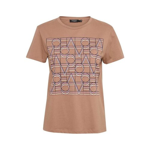 SOAKED in luxury  Lianna T-shirt - brownie