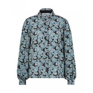 Aaiko Pillar Paisley blouse - blue