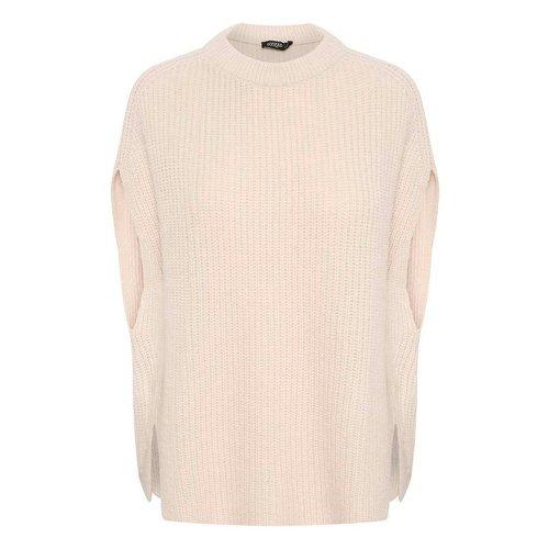 SOAKED in luxury  Millicent vest - sandshell