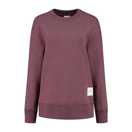 Lune Active Kylie Oversized Sweater in Mulled Wine