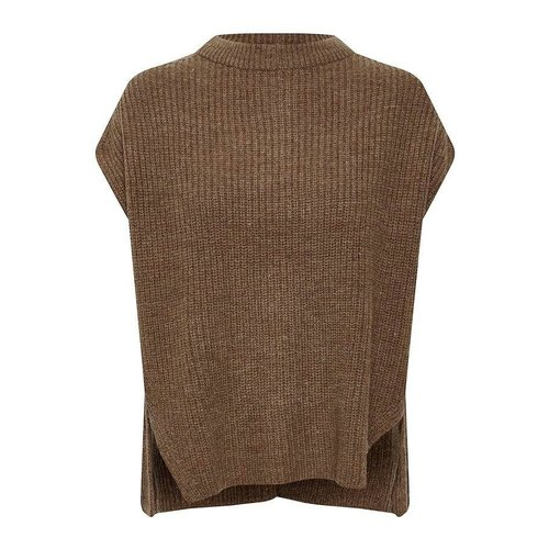 SOAKED in luxury  Millicent vest - brownie