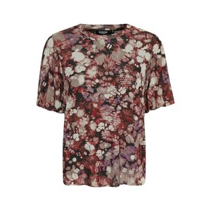 SOAKED in luxury  Lila T-Shirt SS in Brown Splash