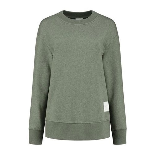 Lune Active Kylie Oversized Sweater in Pine Green