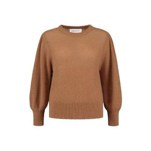 Pom Amsterdam  Pullover - marie smokey brown