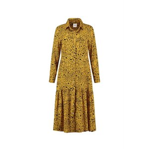 Pom Amsterdam  Dress - city charms golden amb