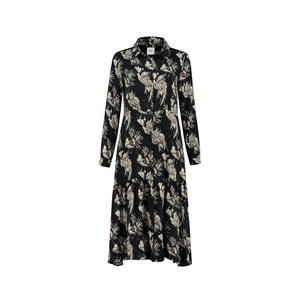 Pom Amsterdam  Dress - paradise birds black