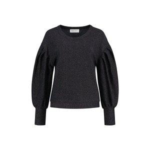 Pom Amsterdam  Sweater blue shimmer