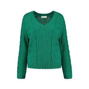 Pom Amsterdam  Pullover - emerald green
