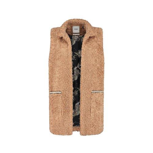 Pom Amsterdam  Jacket teddy golden brown
