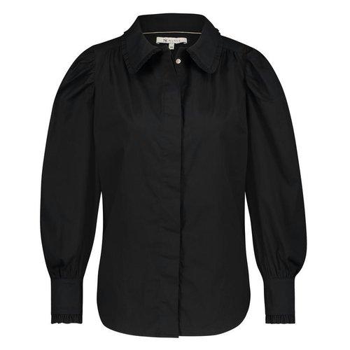Nukus  Maria l/s blouse - black