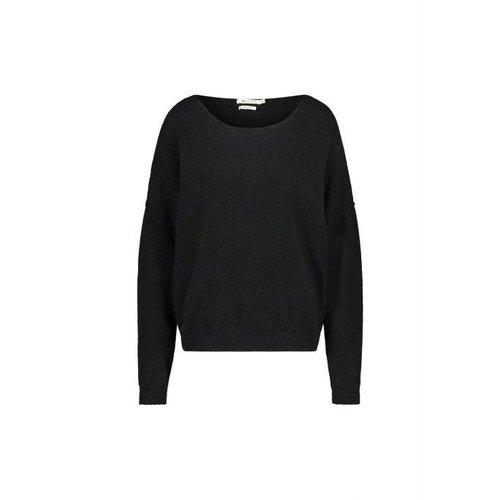Nukus  New york sweater - black