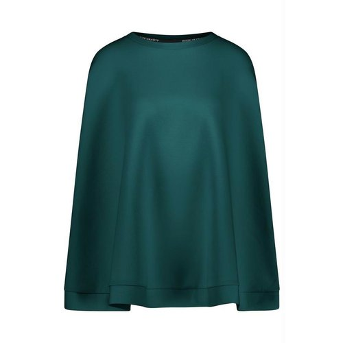 House of Gravity Cape Poncho in Emerald Green