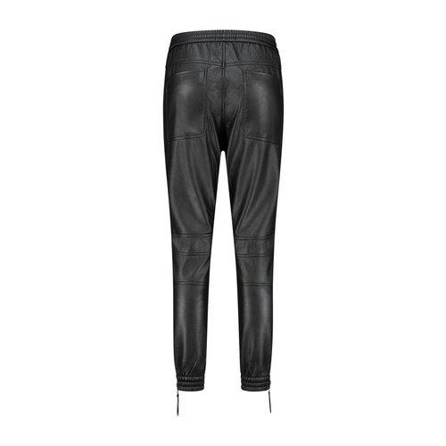 Florez Alexis vegan leather pant - bl