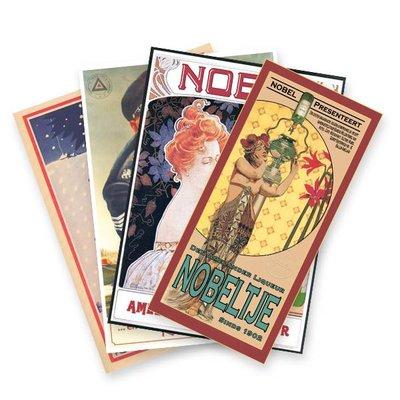 Nobeltje Kombination 5 verschiedener Poster