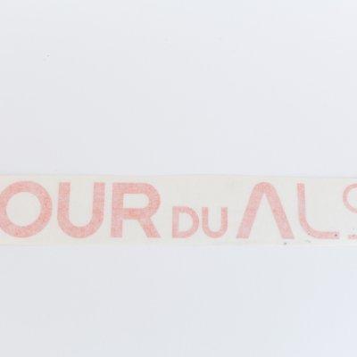 Fietsframe sticker
