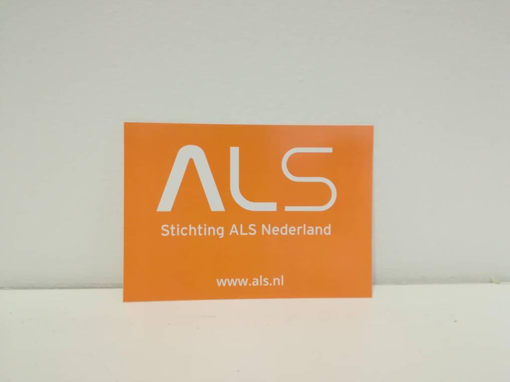 ALS sticker A6