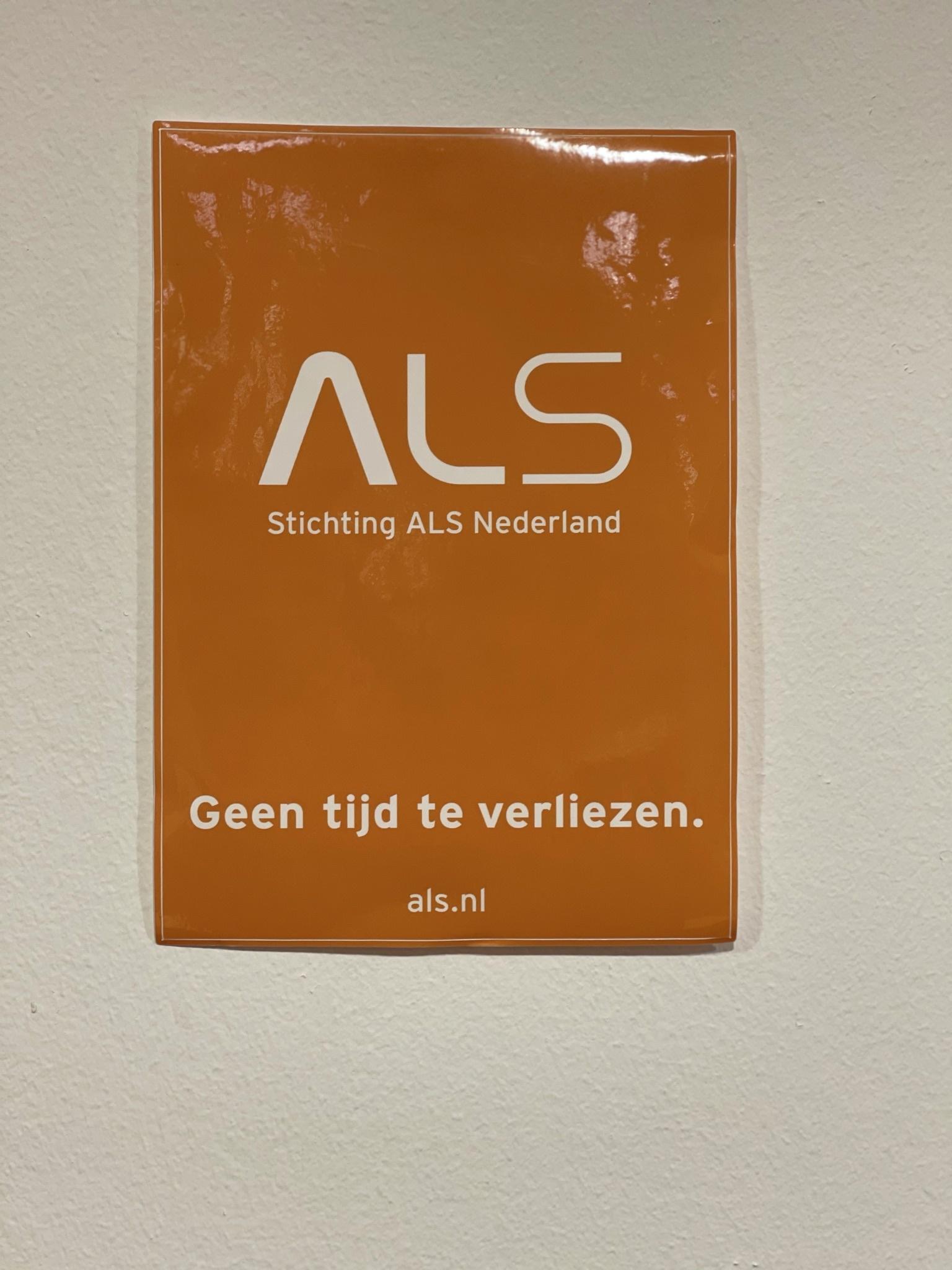 ALS sticker A5