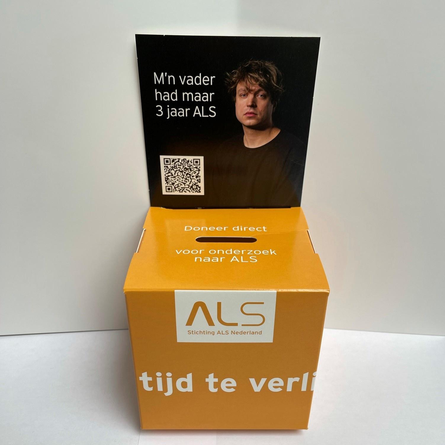 Opvouwbare Donatiebox