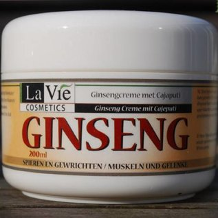 La Vie Orginele Koreaanse Ginseng Crème met Cajaputi