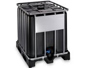 Container 1000l IBC schwarz NEU gewerblich