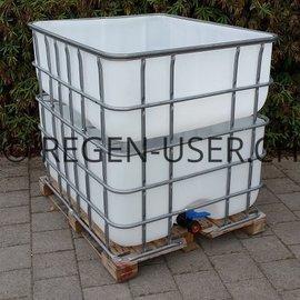 ibc regenwasser sammler und tank regen wasser container 1000l 1000 liter gebraucht. Black Bedroom Furniture Sets. Home Design Ideas